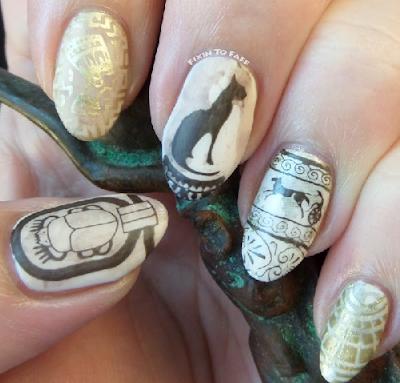 Historical Nail Art Designs