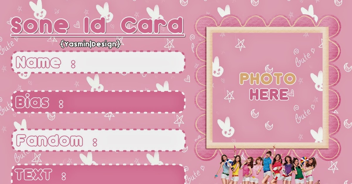 YasminArt: Stock ID CARD