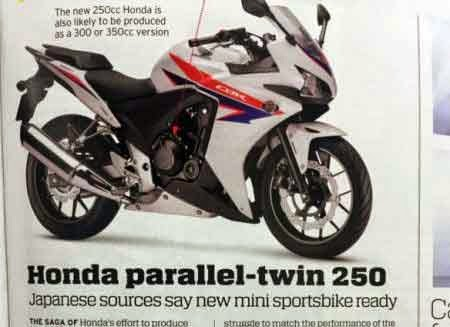 Honda CBR250RR 2-silinder