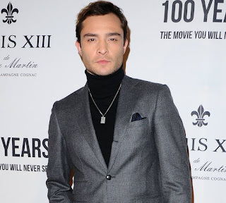 Ed Westwick arrives at Louis XIII Event 1.jpg