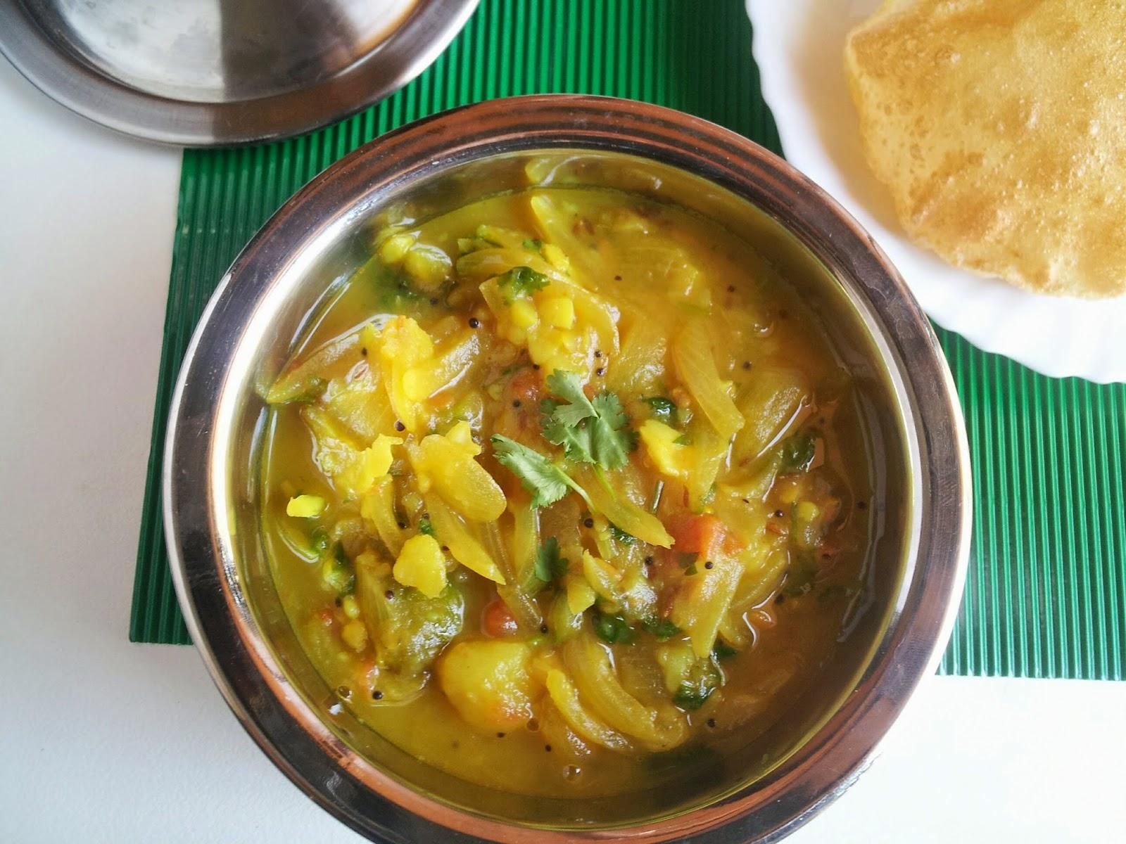 poori/puri masala