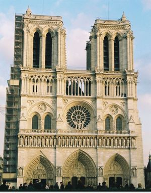 Un symbole bien français la cathédrale de notre dame de paris