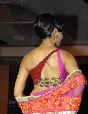 BackLess Blousess Designs 2012, Designer Wear Fashion Sarees 2012