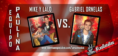Mike y Lalo vs Gabriel Ornelas