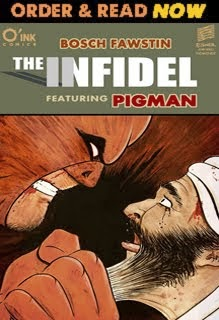 THE INFIDEL, featuring PIGMAN, is now available on COMIXOLOGY
