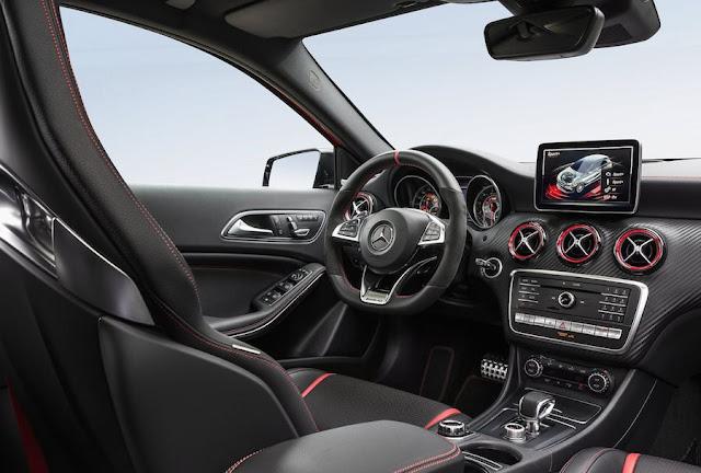 メルセデスベンツA45 AMG マイナーモデルチェンジ 2016