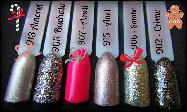 christmas nail polish collection