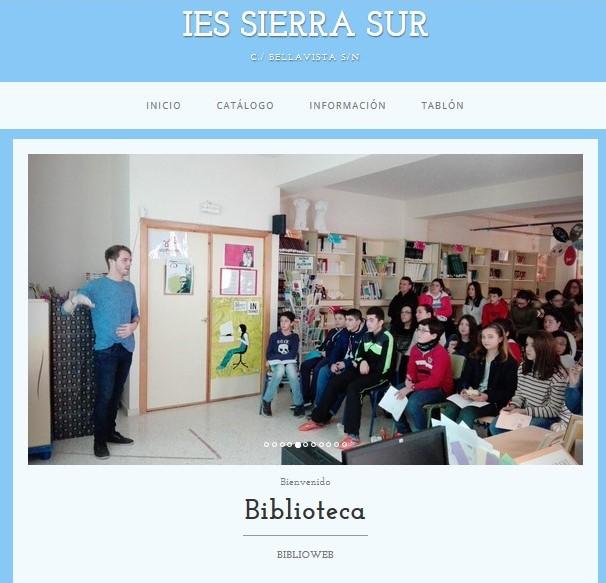 BIBLIOWEB SIERRA SUR