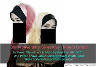 Maera Ismail Giveaway 2013