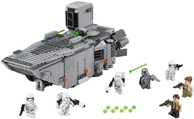 TOYS : JUGUETES - LEGO Star Wars VII 75103 First Order Transporter Star Wars Episodio VII El Despertar de la Fuerza - The Force Awakens Producto Oficial Película Disney 2015 | Piezas: | Edad: 9-14 años Comprar en Amazon España & buy Amazon USA