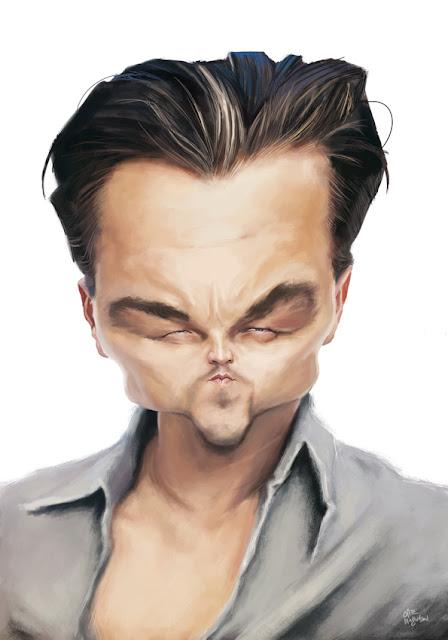 """""""Leo DiCaprio"""" por Olle Magnusson"""