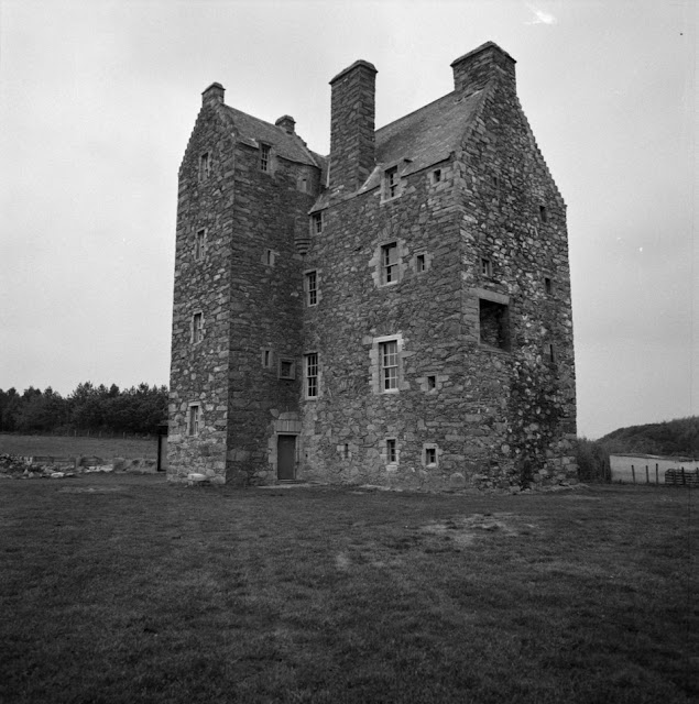 Photograph of a building, possibly a castle, in Scotland c.1930s–1980s, John Piper, © The Piper Estate