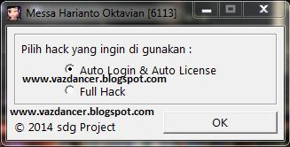 Menu Free Auto Bboy Auto Login with Auto License V6113