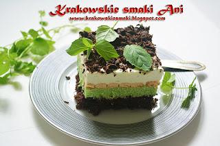 Ciasto miętowe przepis