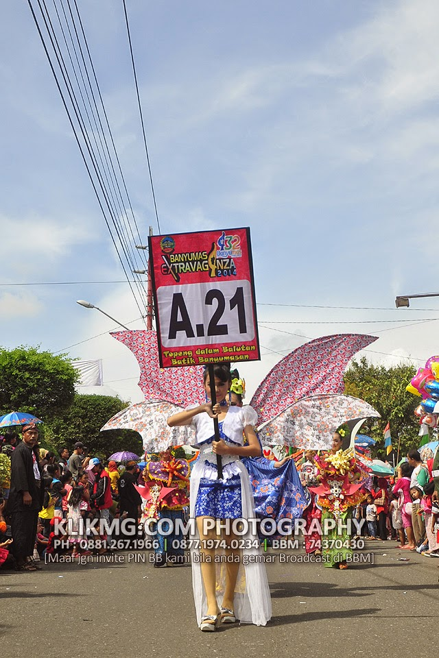 Topeng dalam Balutan Batik Banyumas - Banyumas Extravaganza 2014