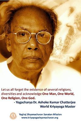Yogacharya Dr. Ashoke Kumar Chatterjee, World Kriya yoga Master