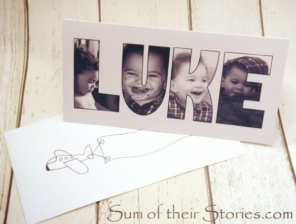 How to make a photo name card