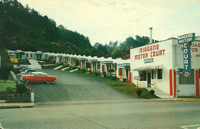 Motor Lodge Miagene Motor Court Bryson City