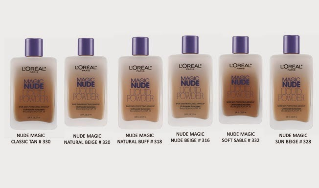 New Loreal Magic Nude Liquid Powder Foundation Review