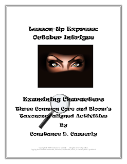 ELA Common Core Activities-October Intrigue