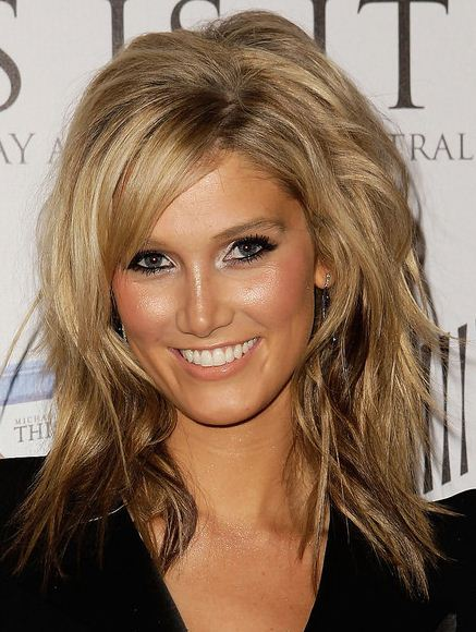 , this is more of a darker blonde color. I really love the highlights