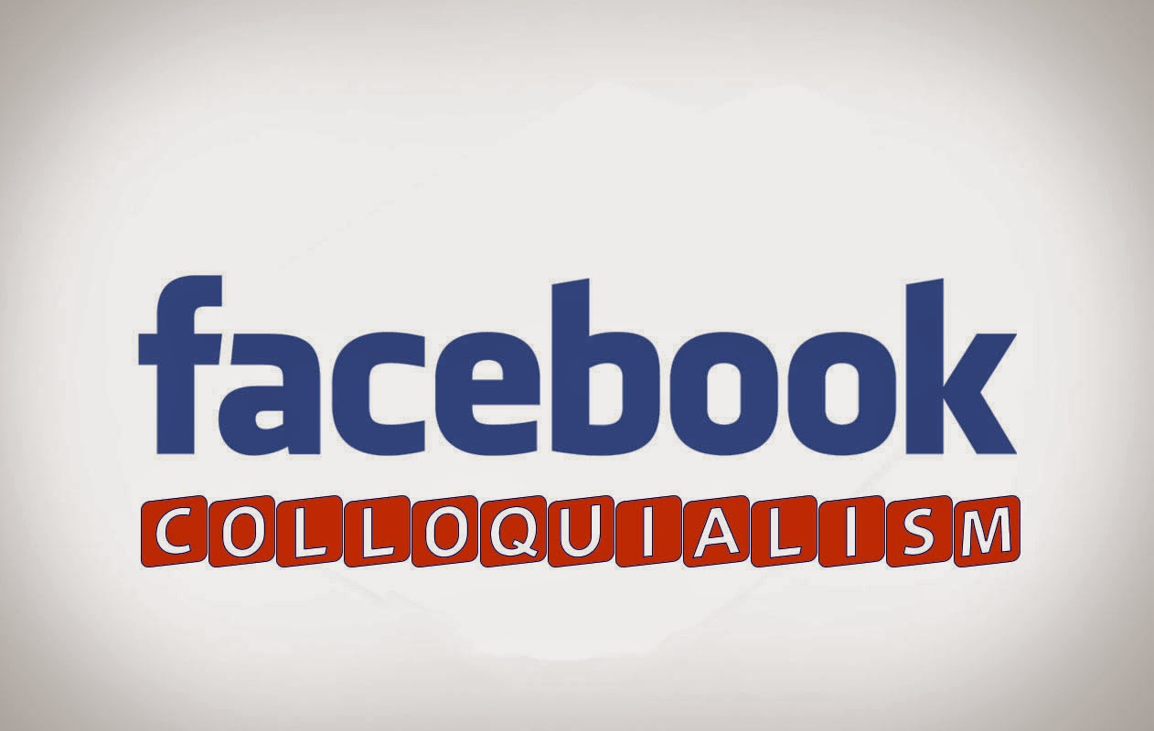 Facebook colloquialism