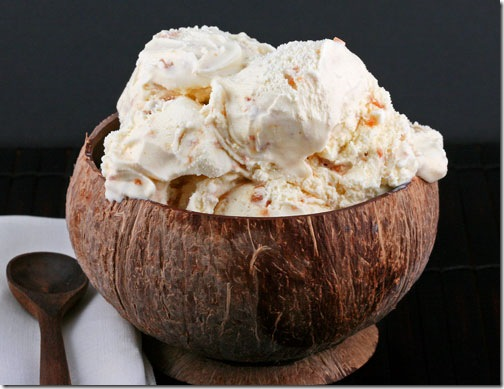 Coconut Ice Cream - | Food And Fruit