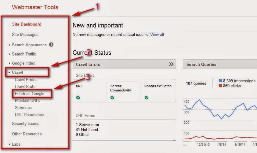 الأرشفة في جووجل