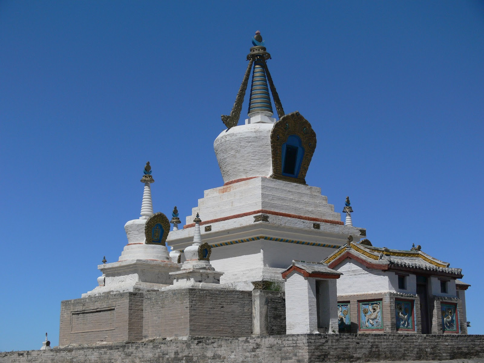 the meaning of buddhist stupas eternal landscapes mongolia
