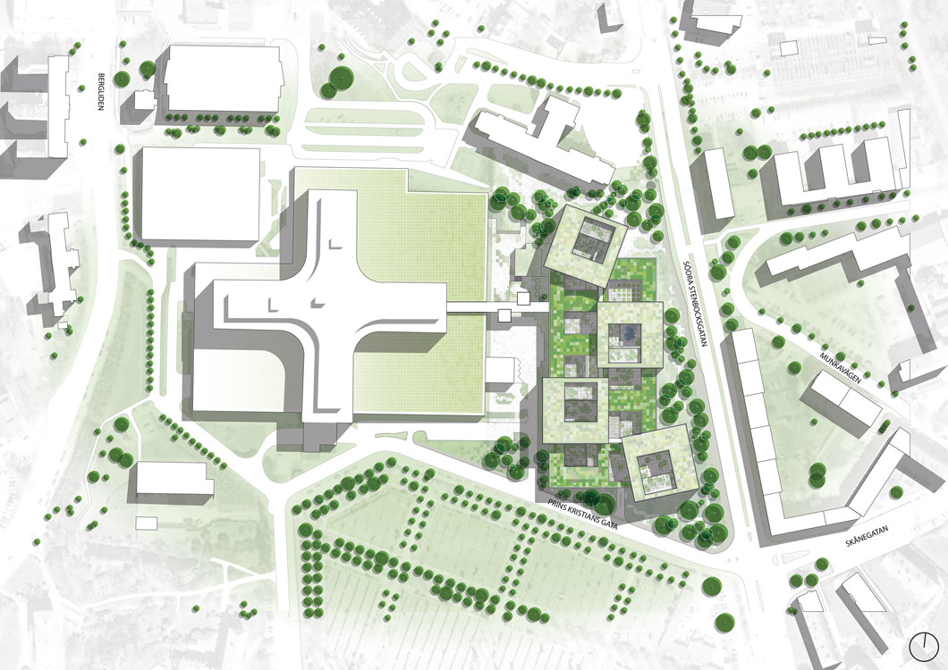 Mental hospital on pinterest psychiatric hospital internal courtyard and hospitals Site plan design