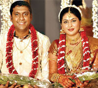 Actress Pranathi got married