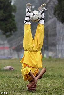 Shaolin Soccer Memang Nyata