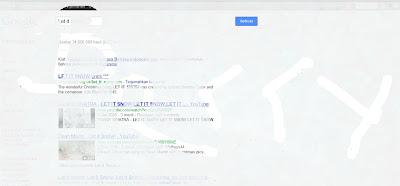 Let it Snow Membuat Salju Google