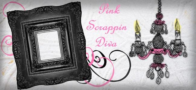 Pink scrappin Diva