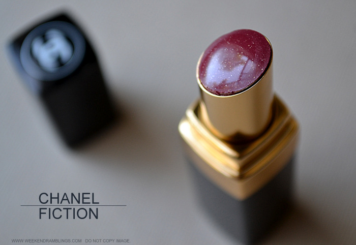 Chanel Rouge Coco Shine Lipstick Fiction - Photos Review Swatches FOTD
