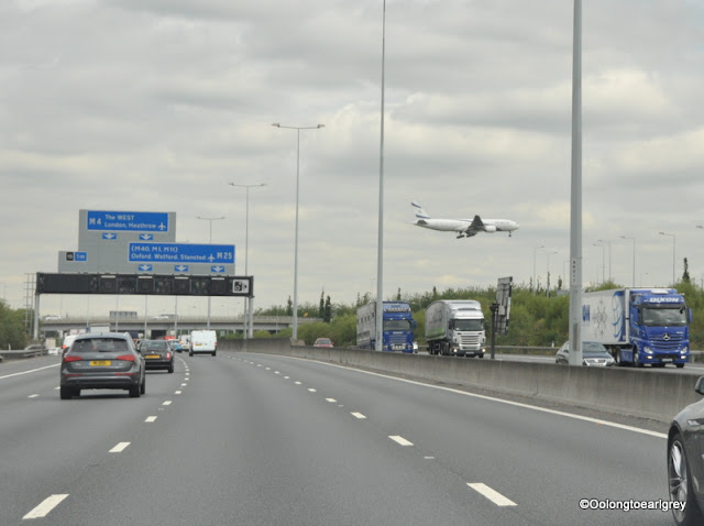 M25, Heathrow, England