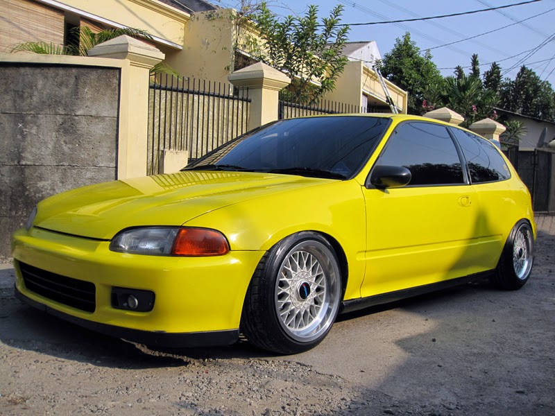 Modifikasi Velg Honda Civic Estilo