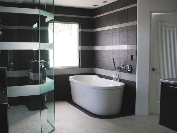 Modern Elegant Bathroom Furniture Interior