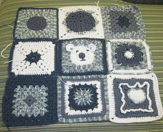 Baby Blue baby blanket