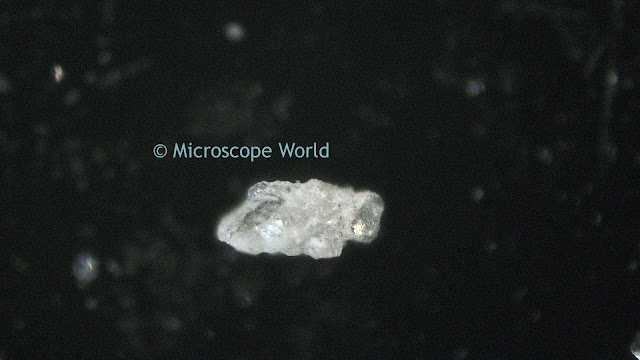 Quartz under the microscope.