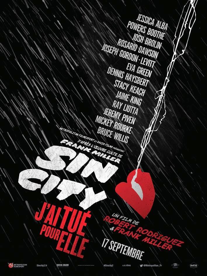 SIN CITY J'ai tué pour elle