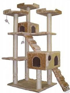 Cool Cat Tree Plans: Cat-Trees