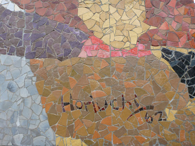 Seattle Center Paul Horiuchi Mural - Signature