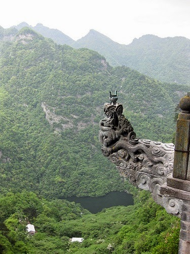 Ancient Building Complex in the Wudang Mountains (China)
