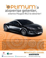 Optimum-Adana-AVM-Peugeot-RCZ-Çekiliş-Kampanyası