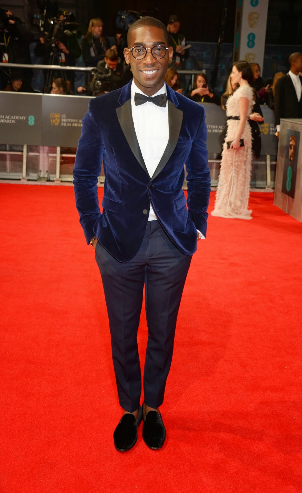Tinie Tempah in Burberry - EE British Academy Film Awards BAFTAs 2014