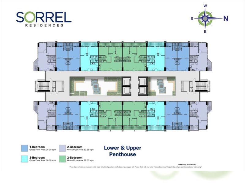 Dmci homes real estate in the philippines for sale sorrel residences floor layout - Lay outs penthouse ...
