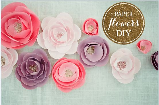 How to make paper flowers diy do it yourself you can really can do so many things with these paper flowers you can make a flower wall backdrop for your candy table corsages or boutonnieres for guests mightylinksfo