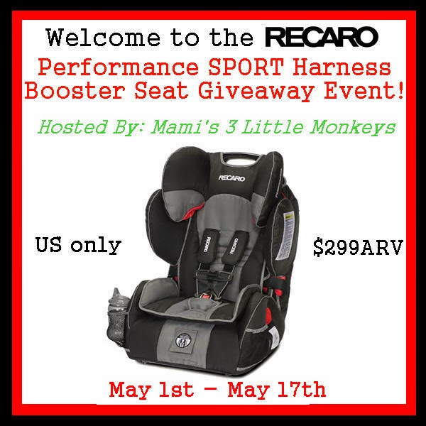 http://mamis3littlemonkeys.blogspot.com/2014/04/recaro-performance-sport-harness.html