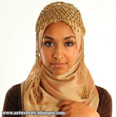 Hijab styles for modern muslimah wear 2012 fashion collections girls